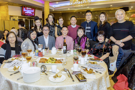 Tradeworld Realty Mrs. and Mr. Chris Wu, Wen Feng Advertising Ms. Fanny Yeung and Mr. Ken, Synergetic Marketing & Promotion Mr. Jimmy Tseung and Ms. Nataleigh Lam, Easy Wellness Centre Dr. Ming Fai Chan